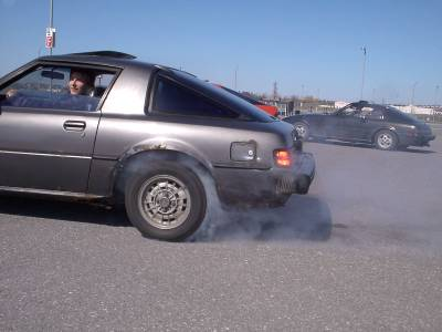 Me doing burnout